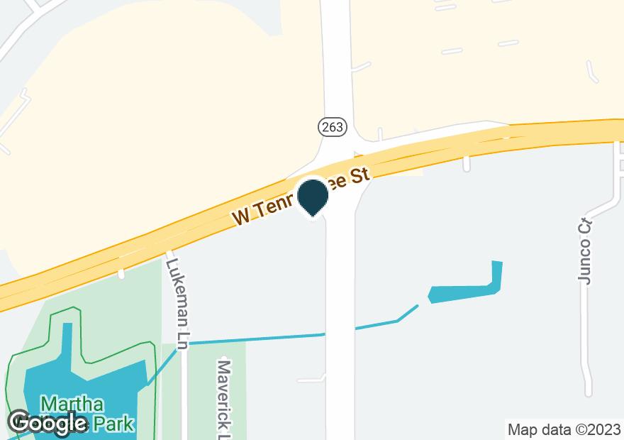 Google Map of140 CAPITAL CIR SW