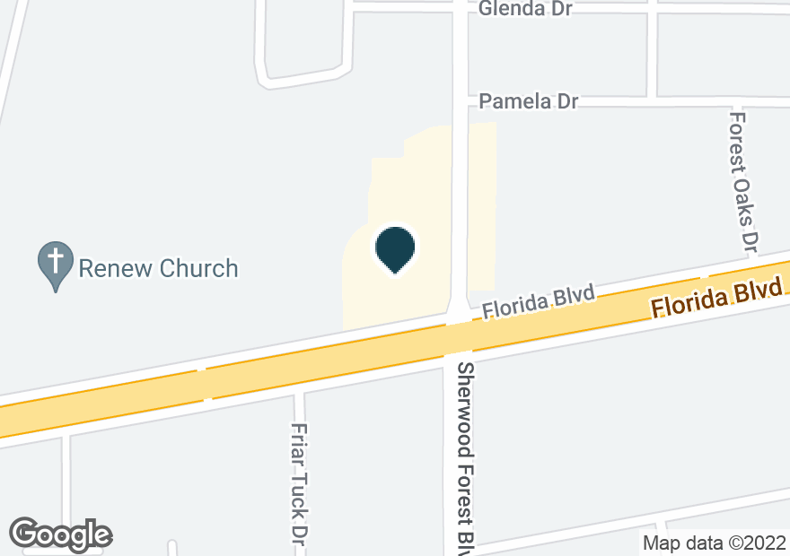 Google Map of11297 FLORIDA BLVD