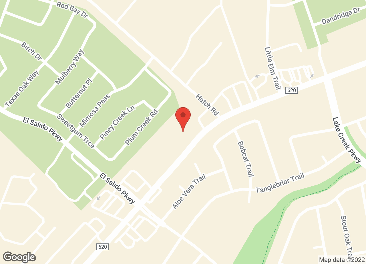 Google Map of VCA Lakeline Animal Hospital