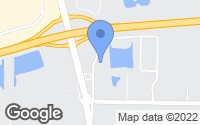 Map of Denham Springs, LA