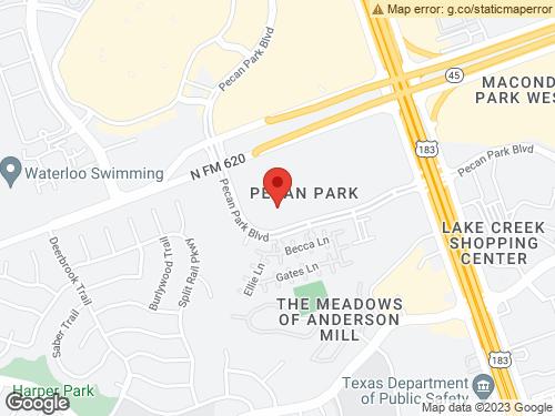 View Map of the design studio in Austin, TX
