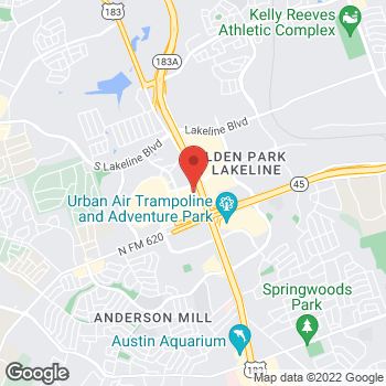 Map of Bed Bath & Beyond at 11066 Pecan Park Boulevard, Cedar Park, TX 78613