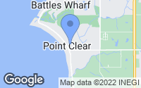 Map of Point Clear, AL