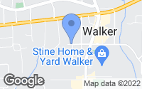Map of Walker, LA