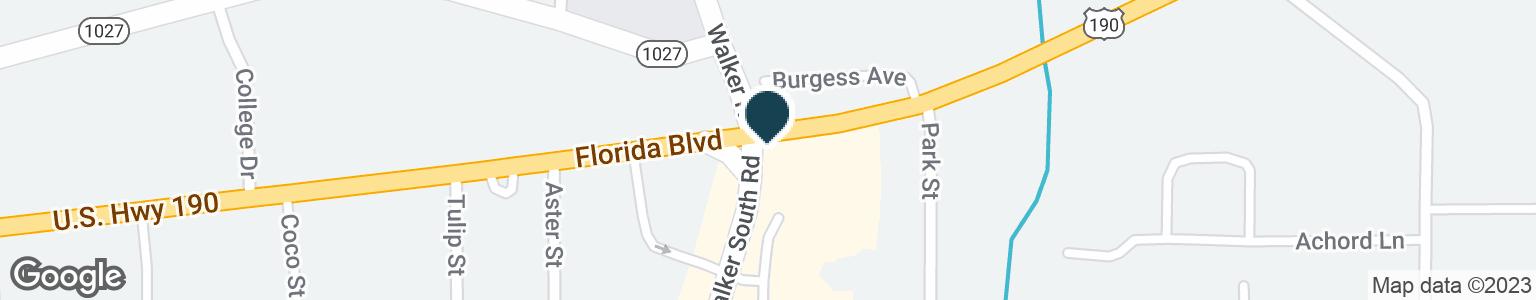 Google Map of10200 FLORIDA BLVD
