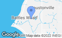 Map of Fairhope, AL