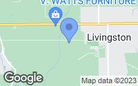 Map of Livingston, LA
