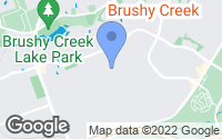 Map of Brushy Creek, TX