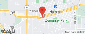Map of 1006 W Morris Ave in Hammond