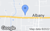 Map of Albany, LA