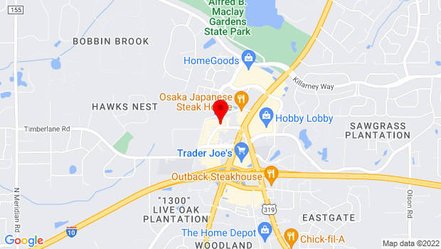 Google Map of 1410 Market Street, Tallahassee, FL 32312
