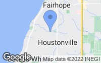 Map of Fairhope, AL