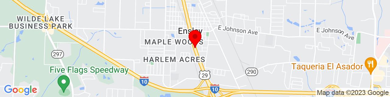 Google Map of 30.5145713, -87.2714068