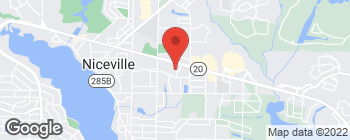 Map of 917 Hospital Dr in Niceville