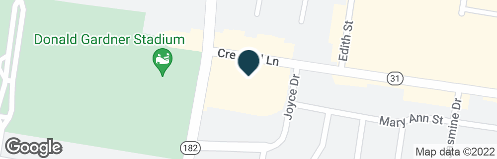 Google Map of410 CRESWELL LN