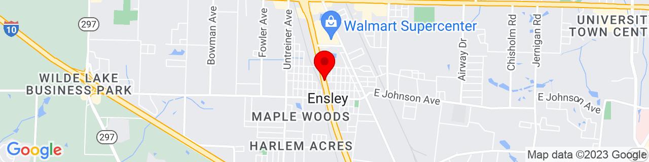 Google Map of 30.52130069999999, -87.27330219999999