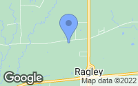 Map of Ragley, LA