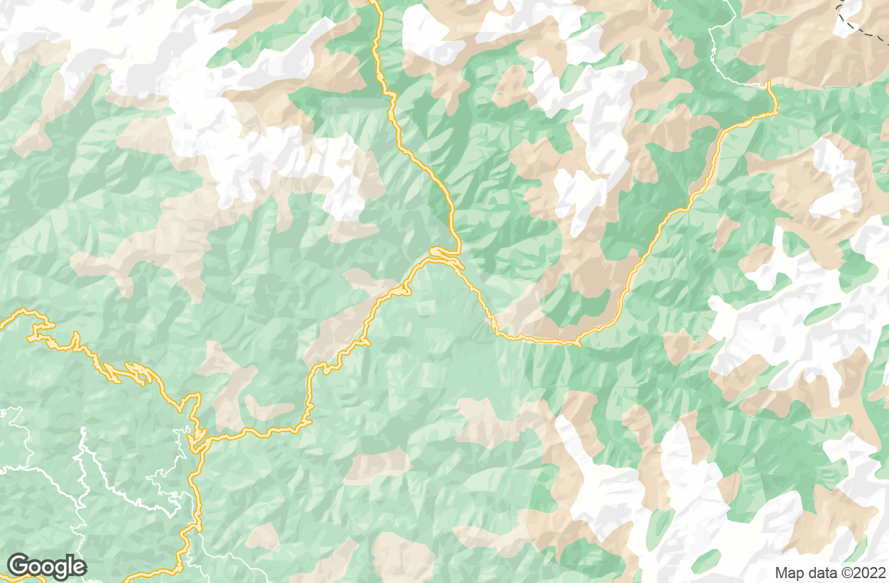 Google Map of Auli