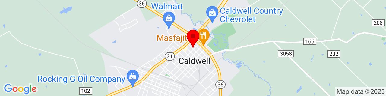 Google Map of 30.5345339, -96.6934081