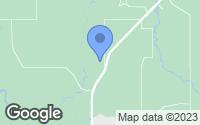Map of Loranger, LA