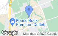 Map of Round Rock, TX