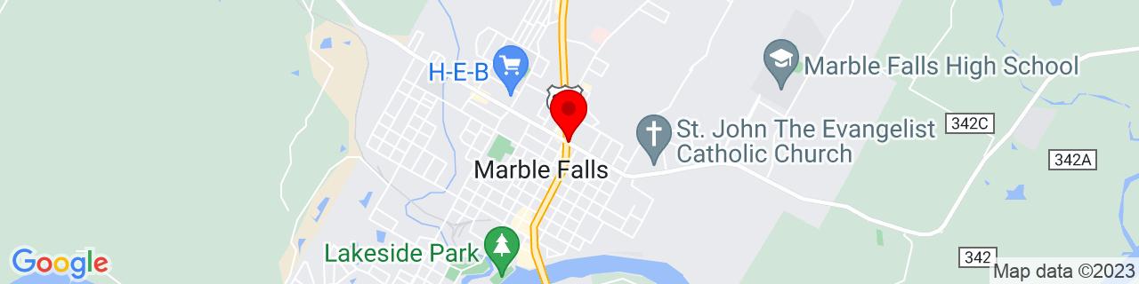 Google Map of 30.578333333333333, -98.27277777777778