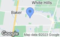 Map of Baker, LA