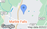 Map of Marble Falls, TX
