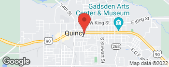 Map of 923 W Jefferson St in Quincy