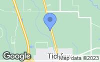 Map of Tickfaw, LA