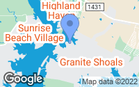 Map of Granite Shoals, TX