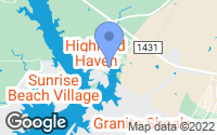 Map of Highland Haven, TX