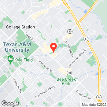 Map of Pizza in College Station, TX – Cicis Pizza at 1905 Texas Avenue S., College Station, TX 77840
