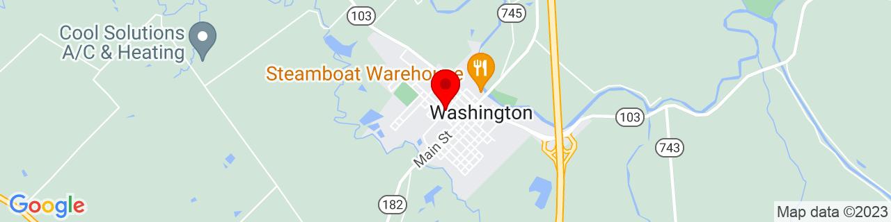 Google Map of 30.6157349, -92.060632