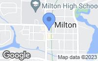 Map of Milton, FL