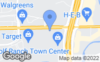 Map of Georgetown, TX