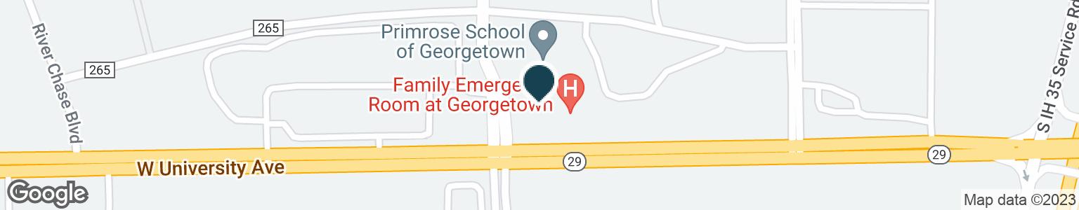 Google Map of1220 W UNIVERSITY AVE