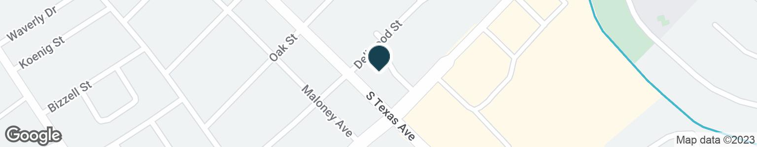 Google Map of610 E VILLA MARIA RD