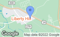Map of Liberty Hill, TX