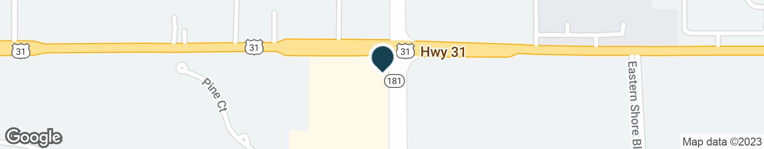 Google Map of30957 MILL LN