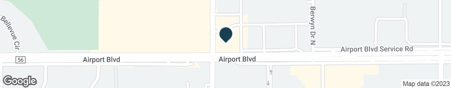 Google Map of3948 AIRPORT BLVD