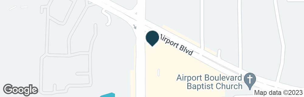 Google Map of6395 AIRPORT BLVD
