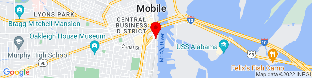 Google Map of 30.6860681, -88.03829859999999