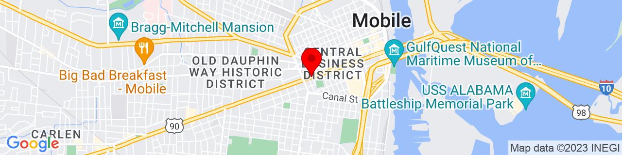 Google Map of 30.6866999, -88.05225039999999