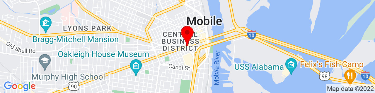 Google Map of 30.6889229, -88.0448287