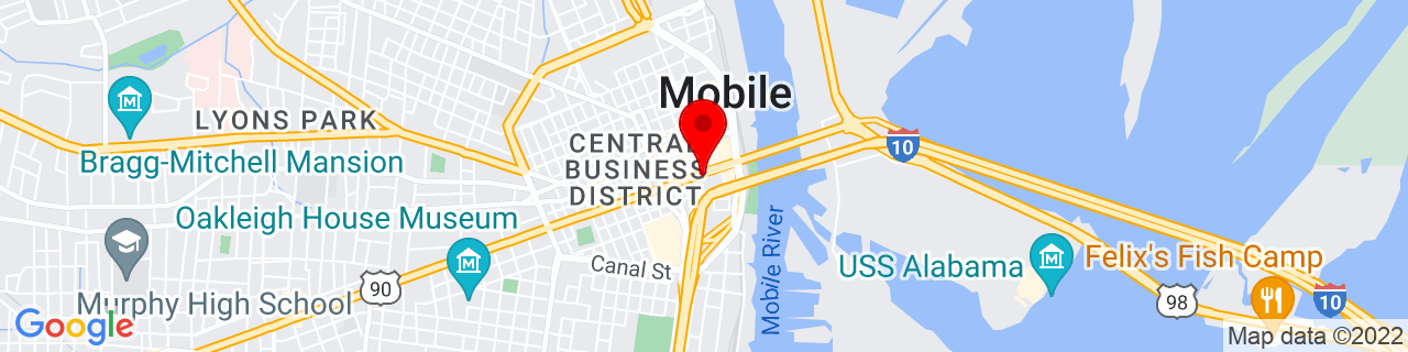 Google Map of 30.6897087, -88.0415919