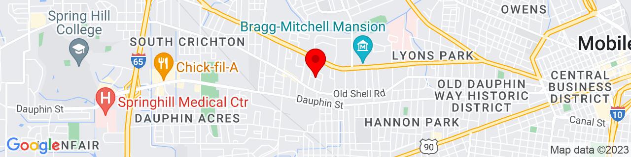 Google Map of 30.6900915, -88.09457130000001