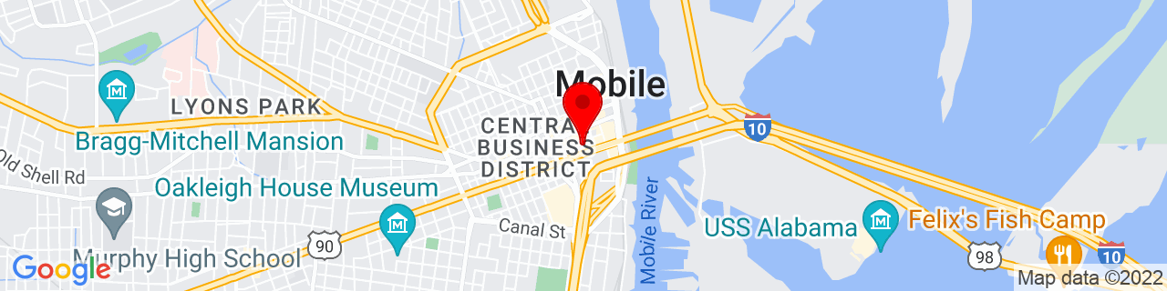 Google Map of 30.6903494, -88.042417
