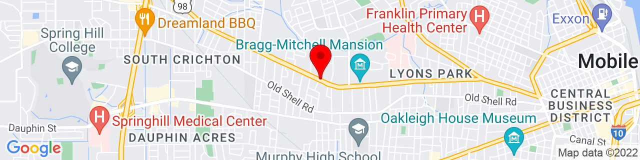 Google Map of 30.6925841, -88.093123