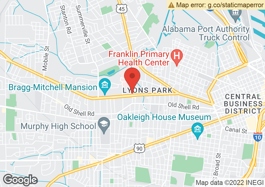 Google Map of 1700 SPRING HILL AVE